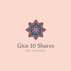 Other - Give 10 shares, get 10 shares. Comment when done❤️